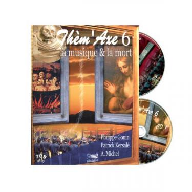 Thèm'Axe - La Musique et la Mort - Livre + 2 CD
