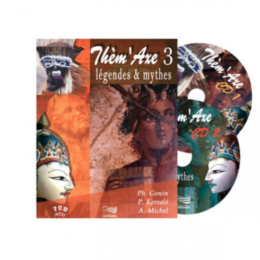 Thèm'Axe - Légendes & Mythes - Livre + 2 CD