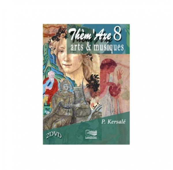 Thèm'Axe 8 - Arts & Musiques - Coffret 2 DVD