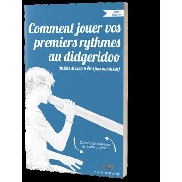 Méthode de didgeridoo POUR DEBUTANT - Gauthier Aubé - Livre + cd