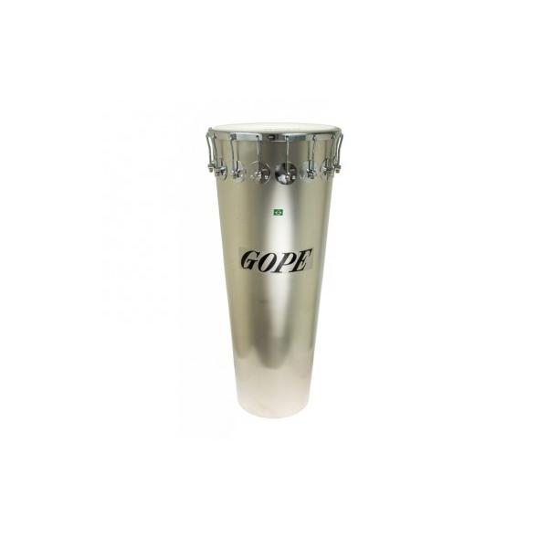 Timbal aluminium 14' x 90 cm CERCLE CHROME 16 tirants - Gope