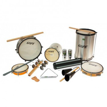 Pack samba 11 instruments - GOPE initiation