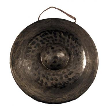 Gong nord-vietnamien fait main - Ø 25 cm - vendu avec une batte