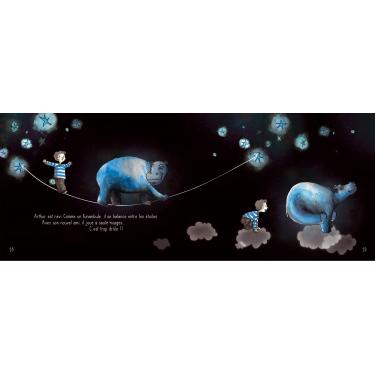 Arthur et l'hippopotame - Livre + CD