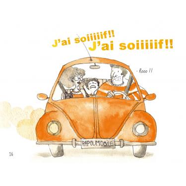 Arthur et le voyage en voiture - Livre + CD