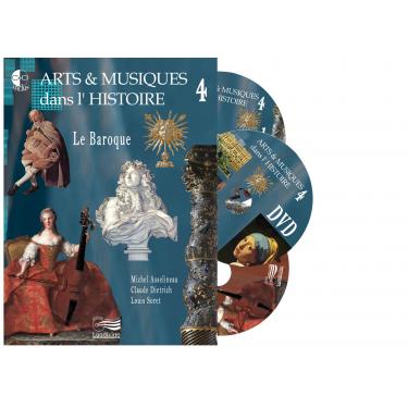 Arts et Musiques dans l'Histoire - Vol 4 - 2 CD + 1 DVD