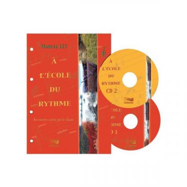 L'école du rythme - Découverte active du rythme par le chant - Livre + CD
