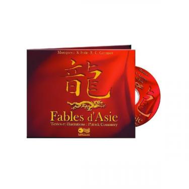 Fables d'Asie - Livre + 2 CD