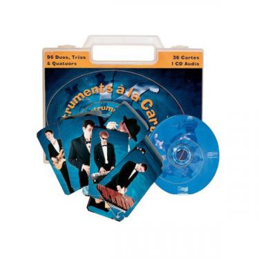 Instruments à la carte - Livret + CD + 36 cartes