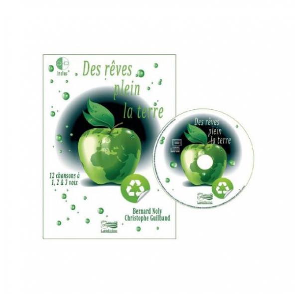 Des rêves plein la terre - Livre + CD