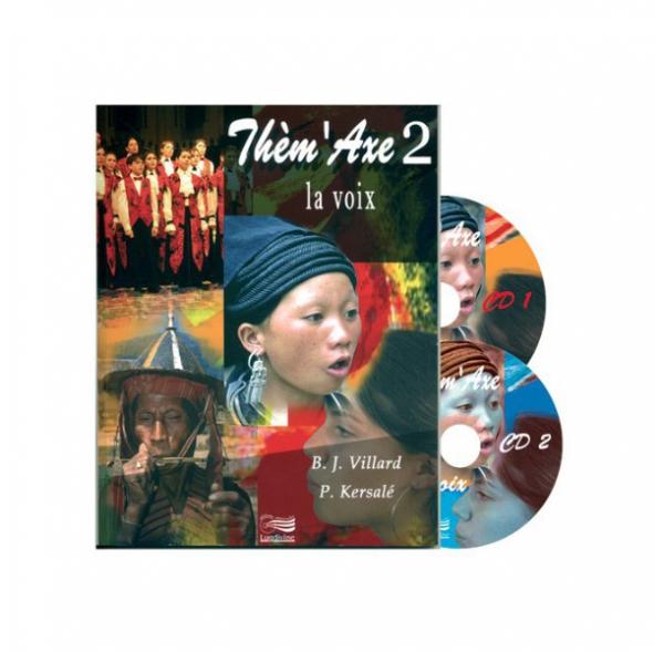 Thèm'Axe - La Voix - Livre + 2 CD