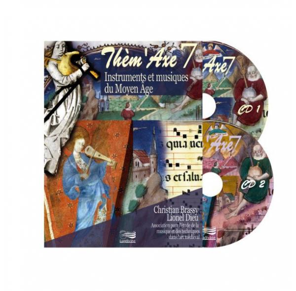 Thèm'Axe - Instruments et Musiques du Moyen Âge - Livre + 2 CD