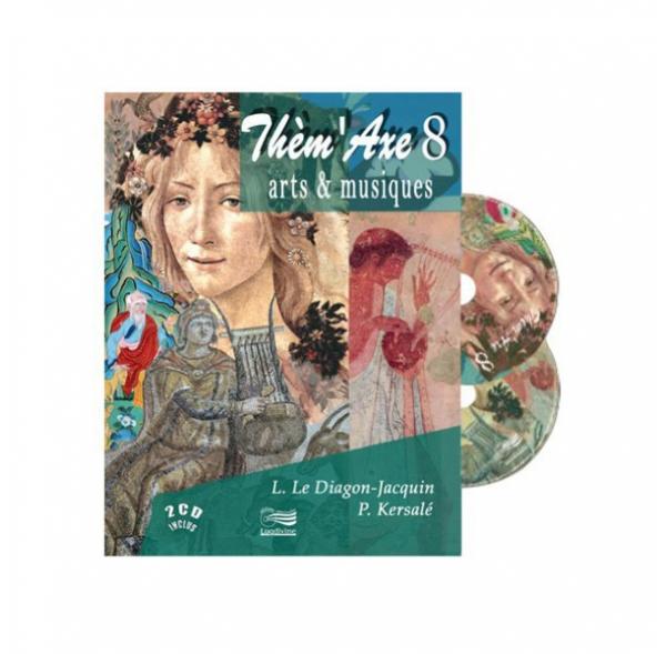 Thèm'Axe - Arts & Musiques - Livre + 2 CD
