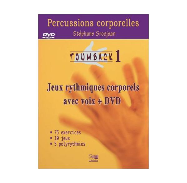 TOUMBACK 1 - Percussions corporelles - Livre + DVD