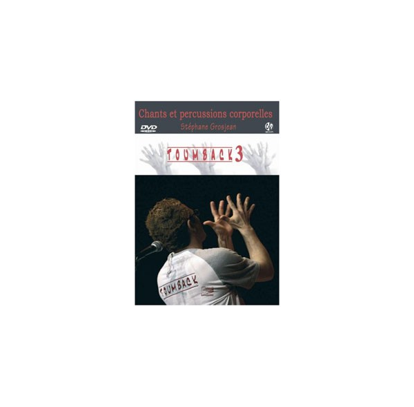 TOUMBACK 2 - Percussions corporelles - Livre + DVD