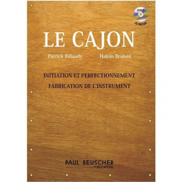Méthode de Cajon + CD Paul Beusher