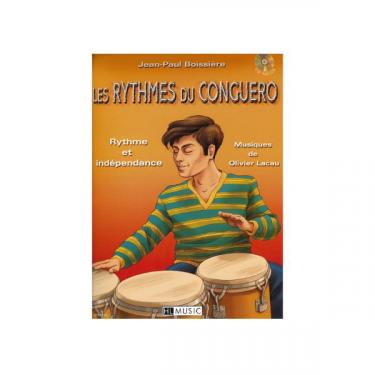 The Conguero's rhythms, by Jean Paul Boissière - Book + cd