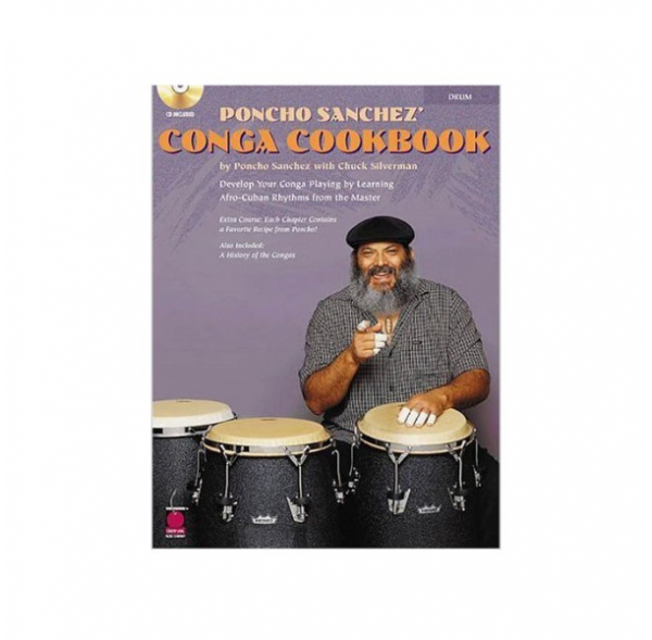 Conga Cookbook - Poncho Sanchez