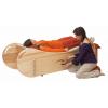 Soundwave en frêne - Table musicale de relaxation - modèle droit - Feeltone