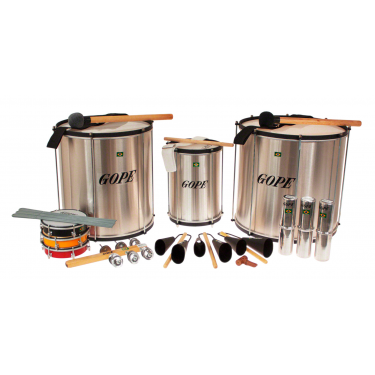 Pack Samba Surdo 40cm HBK - 14 Instruments - Gope