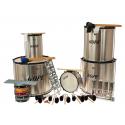 PK-40HBK22 - Samba Pack Surdo 40cm HBK - 22 Instruments