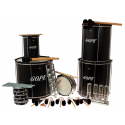 PK-45ABK22 - Samba Pack Black Surdo 45cm - 22 Instruments