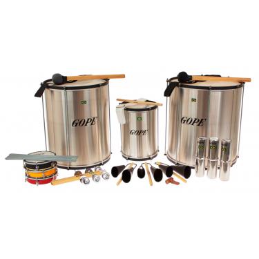 Pack Samba Surdo 45cm HBK - 14 Instruments - Gope