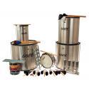 PK-45HBK22 - Samba Pack Surdo 45cm HBK - 22 Instruments