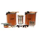 PK-45WOHBK14 - Samba Pack Wooden Surdo 45cm HBK - 14 Instruments