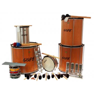 PK-45WOHBK22 - Samba Pack Wooden Surdo 45cm HBK - 22 Instruments