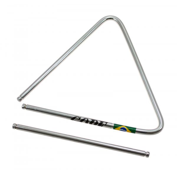 Triangle de Samba / Forro en Acier Chromé - Gope