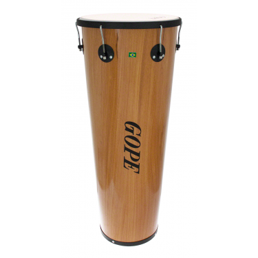 "TM1490WO-6HBK - 14"" Wooden Timbal 6 Lugs Black - 90cm Depth"