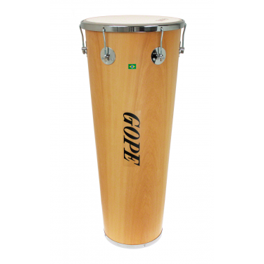 "TM1490WO-6CR - 14"" Wooden Timbal 6 Lugs Chrome - 90cm Depth"