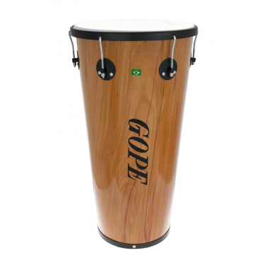 "TM1470WO-6HBK - 14"" Wooden Timbal 6 Lugs Black - 70cm Depth"