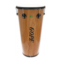 "Timbal Bois 14"" x 70 cm - 6 Tirants - Cercle Noir - Gope"