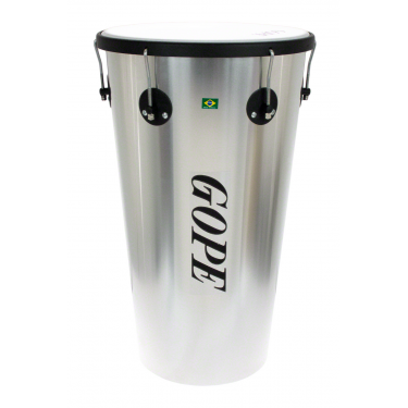 "TM1463AL-6HBK - 14"" Alu Timbal 6 Lugs Black - 63cm Depth"