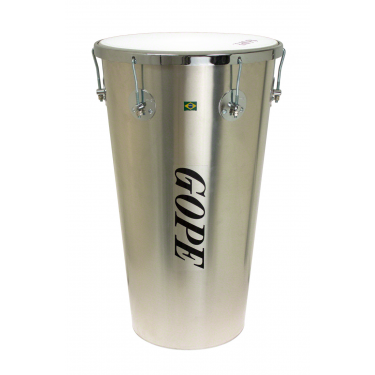 "Timbal Alu 14"" x 63 cm - 6 Tirants Cercle Chrome - Gope"