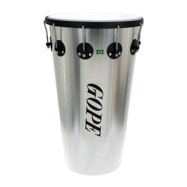"TM1463AL-10HBK - 14"" Alu Timbal 10 Lugs Black - 63cm Depth"