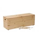 Tambour de bois (Basse) 8 tons (Ré mineur Penta) - Frêne - Feeltone