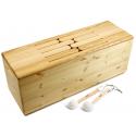 Tambour de bois (Basse) 8 tons non accordé - Frêne - Feeltone