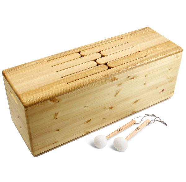 Tambour de bois (Tenor) 8 tons - Fa Majeur pentatonique - Feeltone