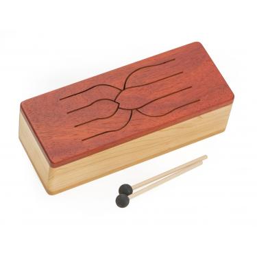 Tambour de bois Tinka tong Alto 6 notes en D penta - Feeltone