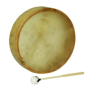Shaman Drum - Native Drum - Parchment Cowhide - 18""