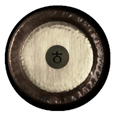 "Gong Planétaire - Terre - 38"" (Ø 96 cm) - Paiste"