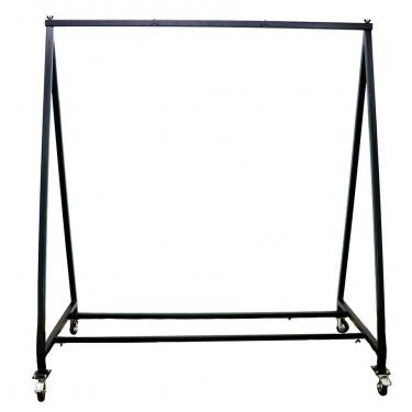 """Stand de gong pour 1 gong de 60"""" ou 80"""" - portique en métal réglable et sur roulettes - Paiste"""