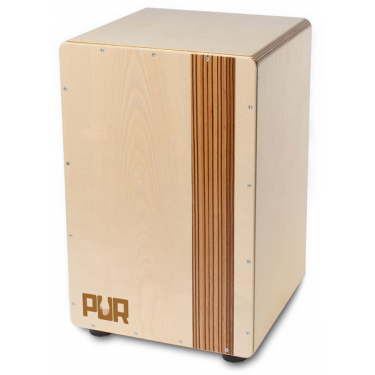 Cajon Compact QS Zebrano - PC2279 - Pur Cajon