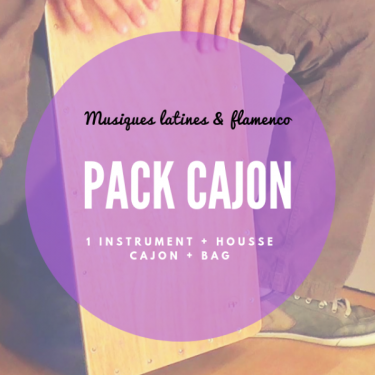 Pack Practice Cajon and bag - Roots Percussions
