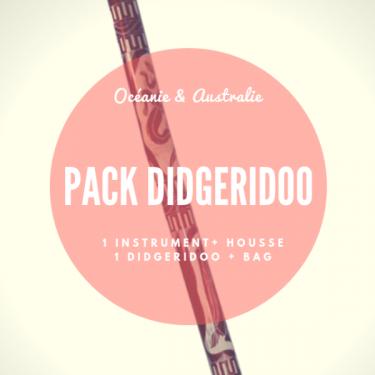 Pack Didgeridoo bambou + Housse