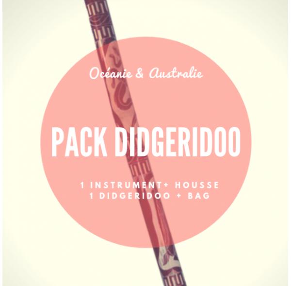 Didgeridoo - Carved bamboo