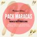 Pack Maracas en peau naturelle - 3 paires - Roots Percussions